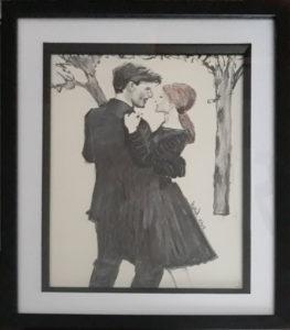 """Les amoureux """"Paris"""" Série 1"""