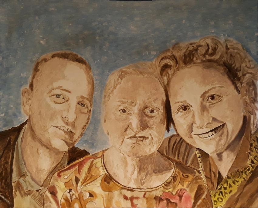Réalisation portrait famille