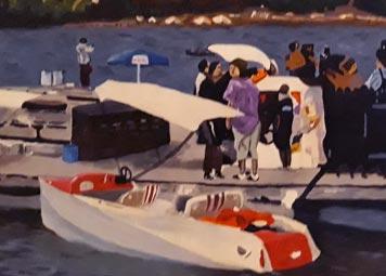 Ponton aux bateaux Gerardmer